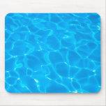 Blue Pool Water Mousepads