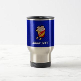 Blue Popcorn Travel Mug