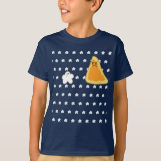 Blue Popcorn vs Nacho T Shirt
