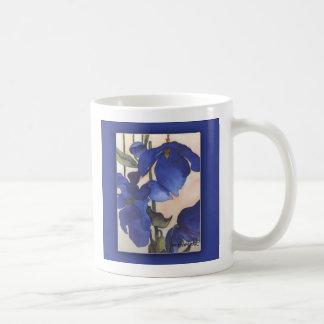 Blue Poppies Mug Basic White Mug