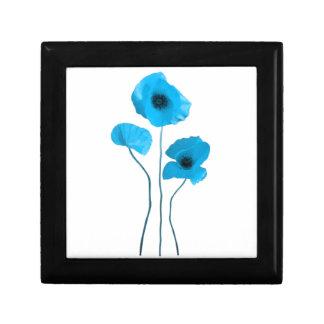 Blue poppy - blue poppy jewelry boxes