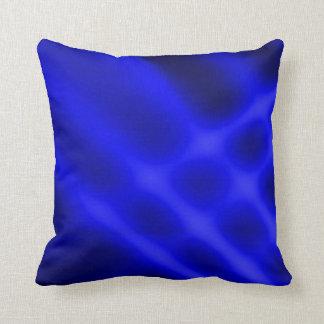 Blue Pots Light Rays Art Design Cushion