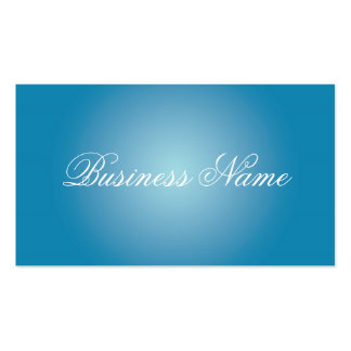 Blue Professional Business Cards