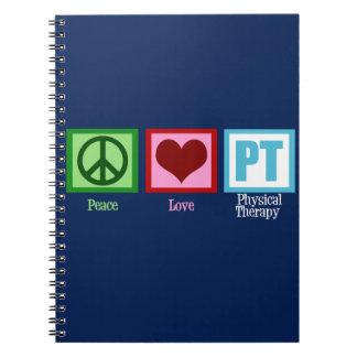 Blue PT Notebook