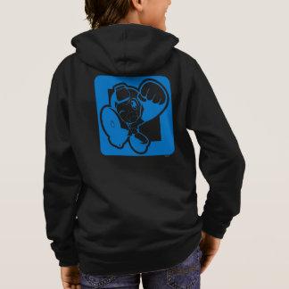 Blue Punch Hoodie