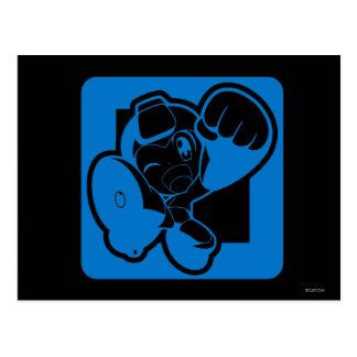Blue Punch Postcard