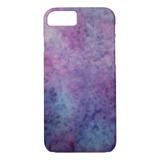 blue, purple abstract design iPhone 8/7 case
