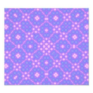 blue purple Abstract Pattern Art Photo