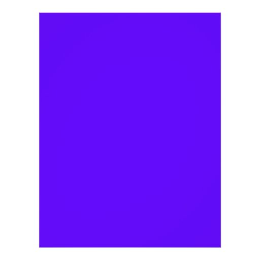 Blue-Purple Color Only Custom Design Products Flyer