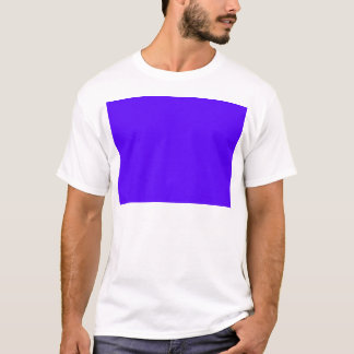 Blue-Purple Color Only Custom Design Products T-Shirt