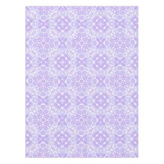 Blue Purple Garden Floral Tablecloth
