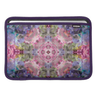 "Blue Purple Mandala Macbook Air 11"" Horizontal Sleeve For MacBook Air"