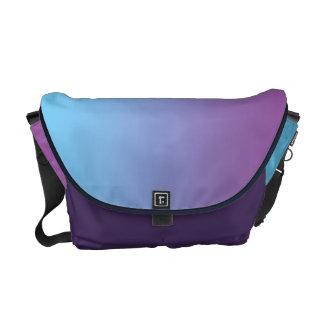 Blue & Purple Ombre Commuter Bag