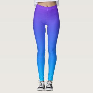 Blue/Purple Ombre Leggings