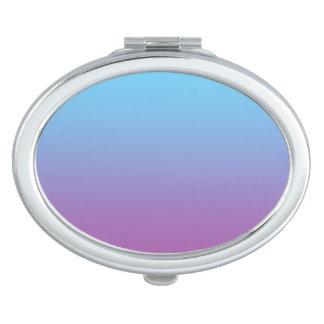 Blue & Purple Ombre Travel Mirror