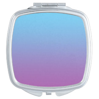 Blue & Purple Ombre Travel Mirrors