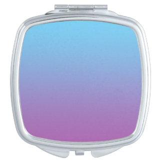 Blue & Purple Ombre Vanity Mirror