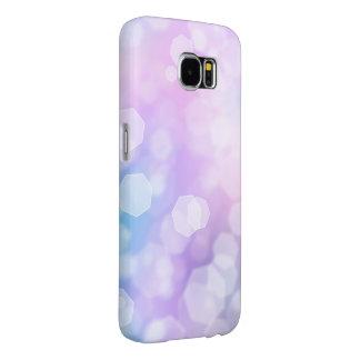 BLUE & PURPLE SPARKLES - Samsung Galaxy Case