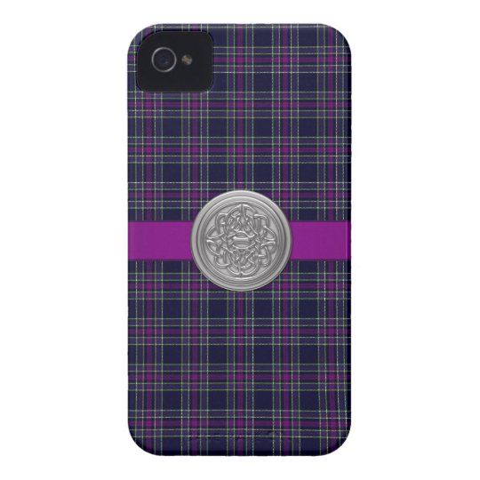 Blue & Purple Spirit of Scotland CMDS Tartan