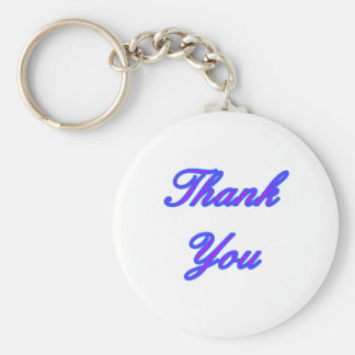 Blue Purple Thank You Design The MUSEUM Zazzle Gif Keychain