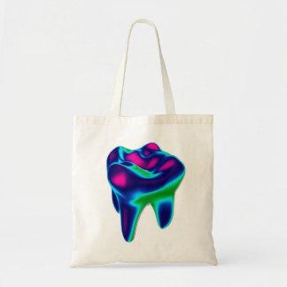 Blue Purple Tooth Design Dentist Orthodontist Bag