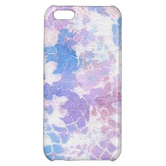 Blue Purple Watercolor Tie Dye Rainbow iPhone 5C Covers
