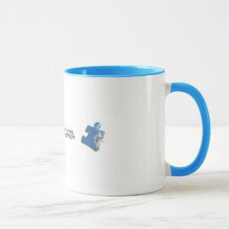 Blue Puzzle Pieces - Autism Awareness Mug