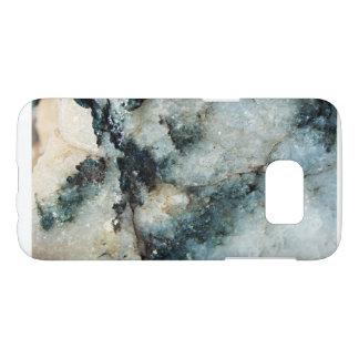 Blue Quartz Mineral Texture
