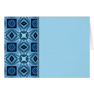 Blue Quilt 2 Greeting Card