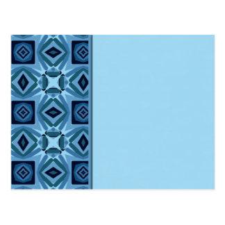 Blue Quilt 2 Postcard