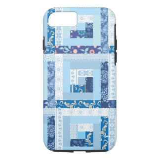 Blue Quilt iPhone 8/7 Case