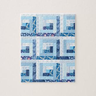 Blue Quilt Jigsaw Puzzle