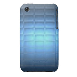 Blue Quilted iPhone 3 Cover