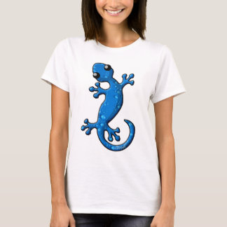 Blue Rain Gecko Lizard T-Shirt
