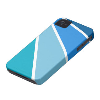 Blue Rays Blackberry Bold case, customizable iPhone 4 Cover