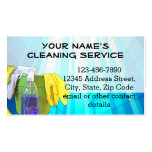Blue Rays Custom Cleaning Service Janitor Business Pack Of Standard Business Cards