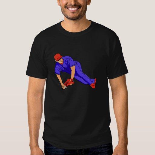 blue red baseball tshirts