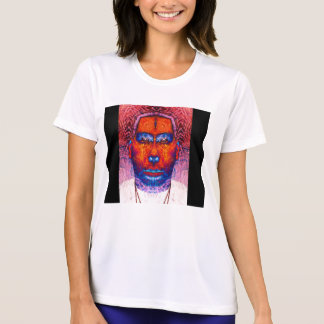 Blue&Red Clenched 3rd Eye-self portrait-by KLM Tee Shirts
