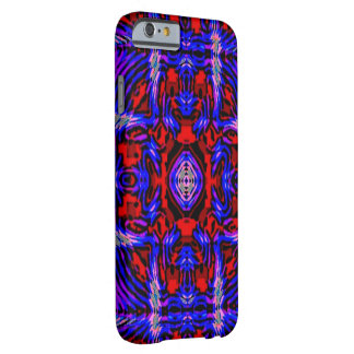 Blue Red Fractal iPhone 6 case