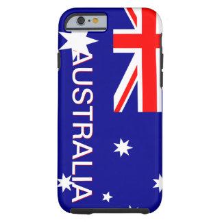 Blue Red & White Australia iPhone 6 case Tough iPhone 6 Case