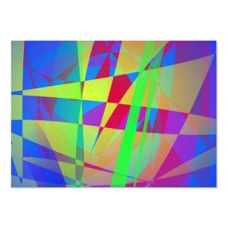 Blue Reflection 13 Cm X 18 Cm Invitation Card