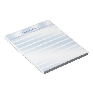 Blue Reflection Lined Personalized Notepad