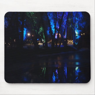 Blue Reflections Mouse Pad