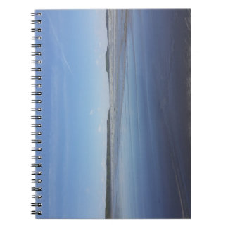 Blue Reflections of Rhossili Bay Notebook