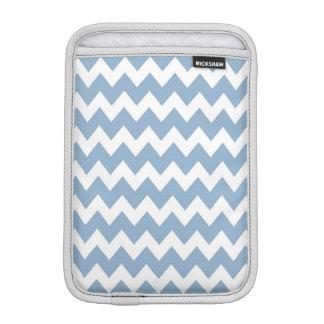 Blue Retro Colorful Modern Chevron ZigZag Pattern iPad Mini Sleeves