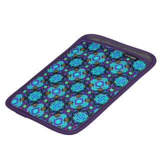 blue retro funky original design i pad holder iPad mini sleeve