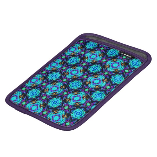 blue retro funky original design i pad holder