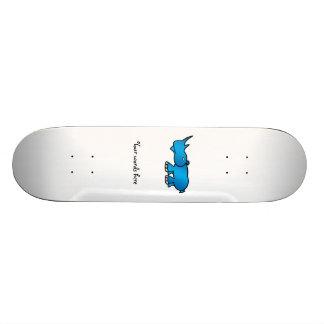 Blue rhino skateboard deck
