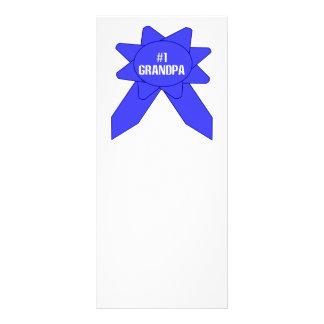 Blue Ribbon #1 Grandpa Custom Rack Card