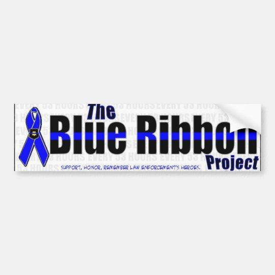 Blue Ribbon Project Bumper Sticker